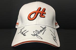 Signed White Cap