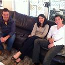 Afternoon at the Hawkes' - Brad, Deanne and Wes