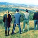Clare, Sam Orton, Dean Roethemeier and Michael in awe of the spectacular valley view atop @VineryStud hillside