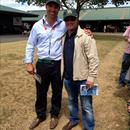 Darren Beadman with Sam Williams (Little Avondale Stud )