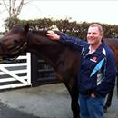 David Healey with Zabeel