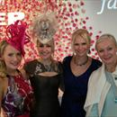 Fashion Week Luncheon... Clare, Jane, Mandy Hall and Fiona Petty