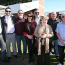 Federation Square owners after his victory at Geelong