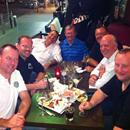 Hawkes Racing Tour QLD 2011..... Koi restaurant Broadbeach