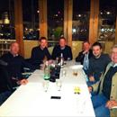 Hawkes Racing tour dinner at the Viaduct Harbour in Auckland