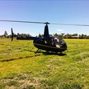 Helicopter joy flights at Highgrove