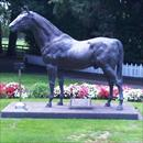 Sir Tristram statue at Cambridge Stud