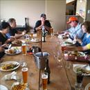 Lunch at The Woodbox in Mystery Creek NZ