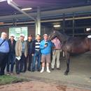 Very happy clients with John and Lot 183... Fastnet Rock Colt