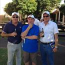 John at the Melbourne Yearling Sales with prominent owners Wayne Forrest and Rob Mitchell