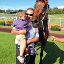 Liam and David Russo with Leebaz after his dominant win at Warwick Farm