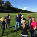 Outstanding English trainer Peter Chapple-Hyam talking to us about his Gallops about to take place