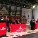 Peter Donogan interviewing Wayne Hawkes,Chris Munce,Dwayne Dunn, Anthony Freedman, Luke Nolan and Kerrin McEvoy