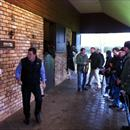 Rodney Schick talks to the group about Thorn Park .... Champion sire 10/11