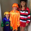 Sophia, Georja & Lili Francis caught playing dress ups