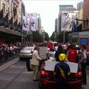 Start of the Melbourne Cup parade