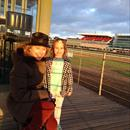Women of Racing @GaiWaterhouse1 & Matilda Hawkes @FlemingtonVRC track work this morning #masterandapprentice